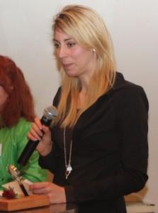 Die Tochter von Stefan Naglis nahm den Preis entgegen.